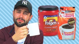 Irish People Taste Test American Coffee