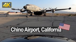 Driving tour at Chino Airport in California 🇺🇸