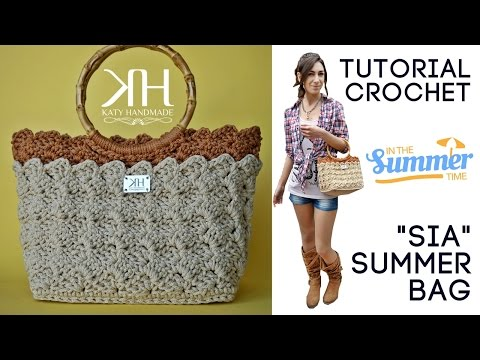 Tutorial Pochette Ambra Uncinetto How To Make A Crochet Bag