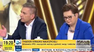 Arłukowicz zmasakrował Bielana!
