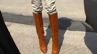 pedal pumping in sexy vintage boots AMAZING RIDE  and SWAPPING!!!!!!!!!!!!!!!!!!!