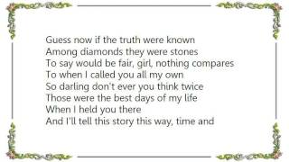 Garth Brooks - That's the Way I Remember It Lyrics