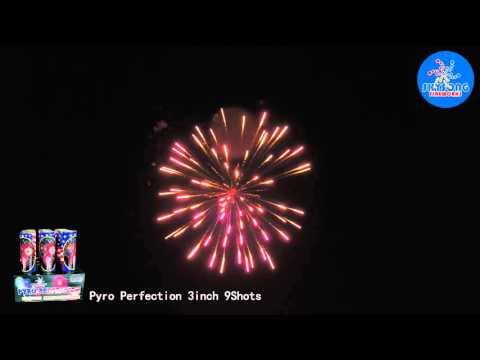 "Pyro Perfection 3"" 9Shots"