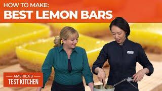 How To Make The Lemoniest Lemon Bars