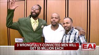 Cleveland Men Wrongfully Convicted Awarded $5 Million Each
