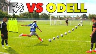 Download Youtube: ODELL'S OUTRAGEOUS SOCCER SKILLS | F2 vs Beckham Jr 😱🏈⚽️
