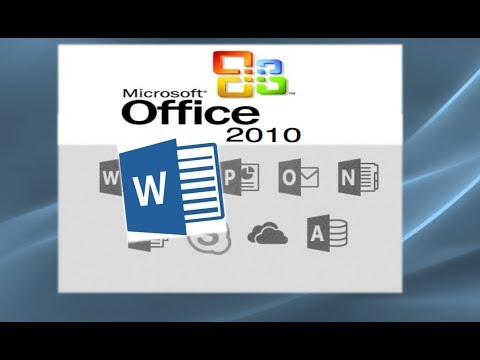 Word 2010 Tutorial: A Comprehensive Guide to Microsoft Word