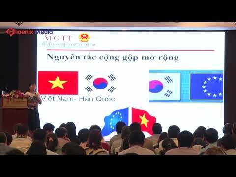 DIỄN ĐÀN THƯƠNG MẠI VIỆT NAM – EU - Bà Trịnh Thị Thu Hiền