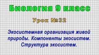Биология 9 класс Урок 32