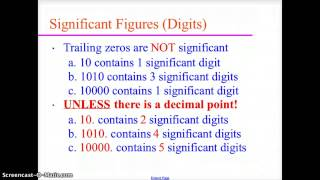 CH 3 CHEMISTRY SIGNIFICANT FIGURES (DIGITS)