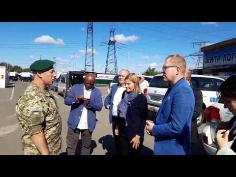 Väliskomisjoni visiit Ukrainasse
