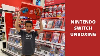 I found $500 and bought a Nintendo Switch [UNBOXING]