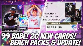 99 BABE! HUGE All-Timers Program & Beach Ball Packs! 20 NEW DIAMONDS! MLB The Show 20