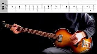 Bass TAB : Misery - The Beatles