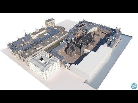 Het Binnenhof volledig 3D in kaart gebracht