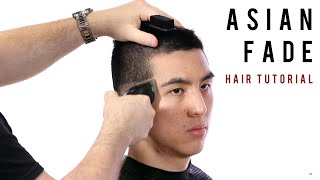 How To Fade Asian Hair - TheSalonGuy