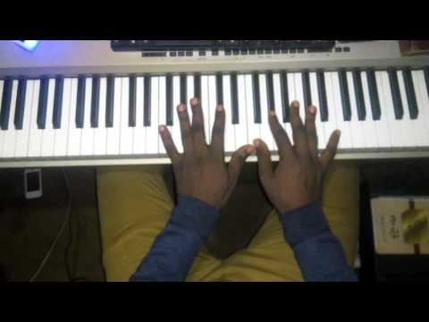 Worship chord progression on Gflat