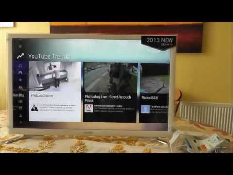 Samsung Smart Tv unboxing