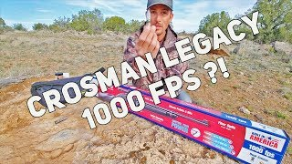 Crosman Legacy 1000 - Does it REALLY do 1000FPS?!