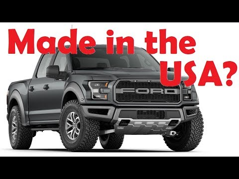 Top 10 Most American Made Cars (2018)
