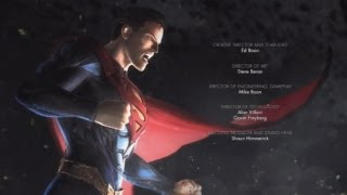 Injustice Gods Among Us  Full MOVIE ALL Cutscenes & Cinematics HD