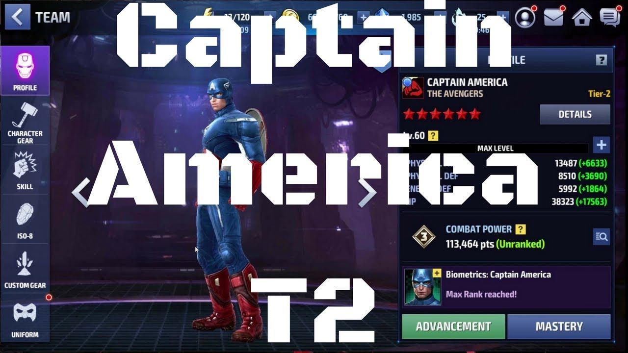 รีวิว Captain America T2