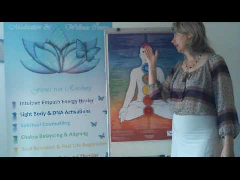 What blocks our Chakras - Intro by Fiona