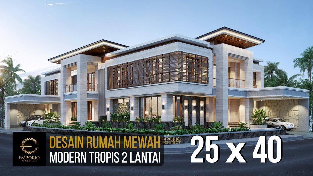 Video 3D Mr. Hendry Modern House 2 Floors Design - Banjarmasin, Kalimantan Selatan