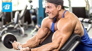 Sadik Hadzovic's Classic Biceps and Triceps Workout | IFBB Pro by Bodybuilding.com