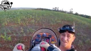 FPV, ele esta de volta, o SKYWALKER com piloto articulado, painel e tudo mais.