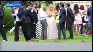 Луи Томлинсон, One Direction boys at the wedding of Louis Tomlinson's mum
