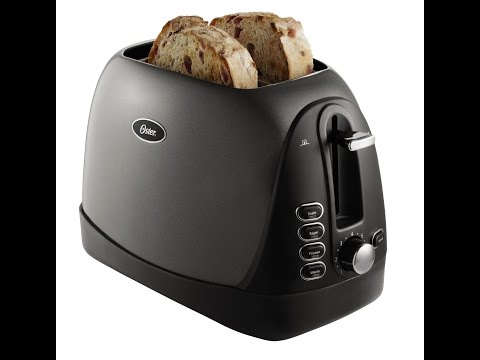 , Oster 2-Slice Toaster, Metallic Grey (TSSTTRJBG1)