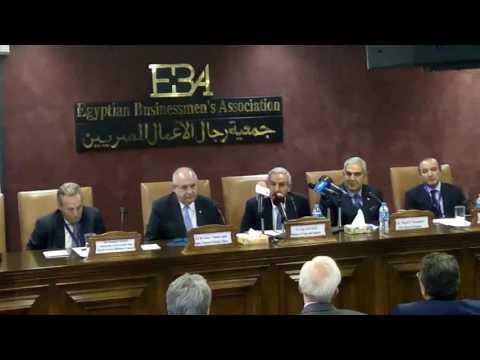 قابيل يفتتح الاجتماع الثالث لمجلس الأعمال المصري اليوناني بحضور نائب وزير خارجية اليونان