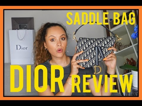 DIOR SADDLE BAG 2018 UNBOXING!! | CA$$IE THORPE