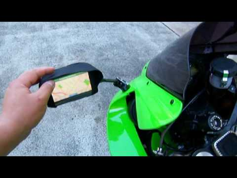 How to Adapt / Mount A Car GPS to a Motorcycle