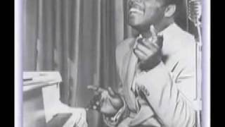 "Video thumbnail of ""charles brown/drifting blues (original version, 1945)"""
