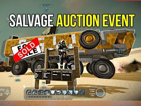 Space Engineers - Apocalypse Auction Salvage & Trade Event