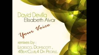 David Devilla & Elisabeth Aivar - Your Voice (Leoesco Club Mix)