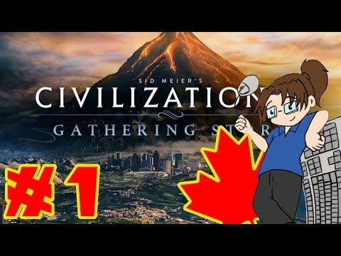 Let's Play - Civilization VI: Gathering Storm! - Canada - Part 1