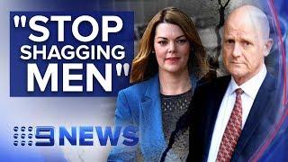 Senator And Former Senator Face Off In Defamation Court Case   Nine News Australia