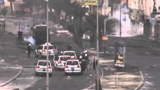 preview picture of video 'Bahrain | عاصمة الثورة سترة يوم 14 فبراير 2015'
