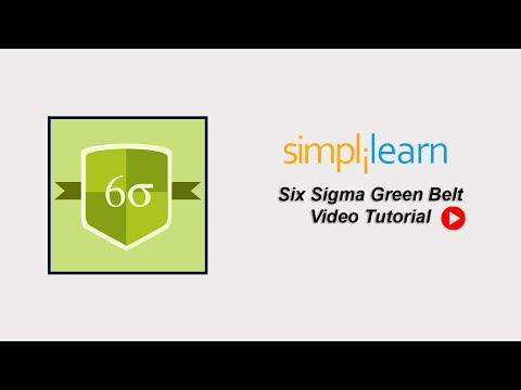 Free Six Sigma Tutorial | Six Sigma Green Belt Training Part 1 ...