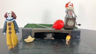 NECA Toys IT Movie 2017 Pennywise accessory set