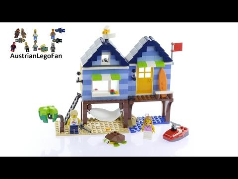 Vidéo LEGO Creator 31063 : Les vacances à la plage