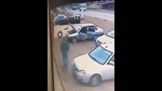 ДТП. Лобовое столкновение. Два человека пострадали.