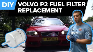Volvo Fuel Filter Replacement - Improve MPG (S40, S60, S80, V70, XC70)