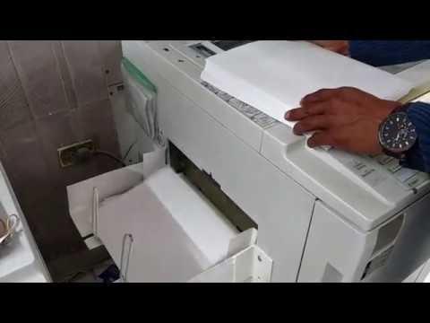 Ricoh Aficio MP 6001 Funcionamiento