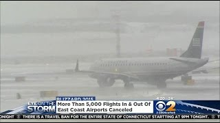 Snowstorm Throws Wrench In Air Travel Plans