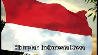 LAGU INDONESIA RAYA Instrument Dengan TEKS