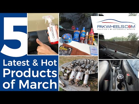5 Latest And Hot Products Of March Available On PakWheels Store